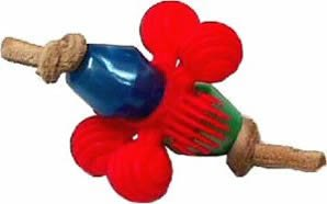 AC 026H Whirley Twirley 4in x 3in Hand Held Bird Toy