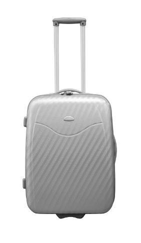 Hartschalen Koffer 55cm Silber