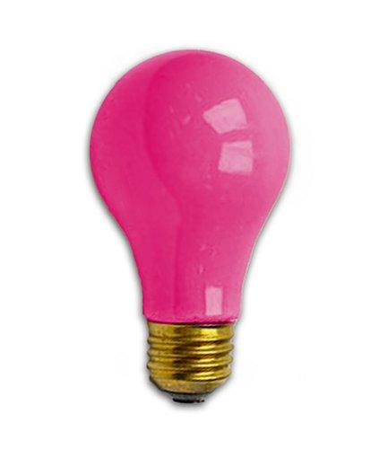 Bulbrite 106625 - 25A/CP - 25 Watt A19 Pink Light Bulb (Hot Pink Lightbulbs compare prices)