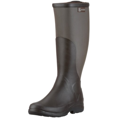Aigle Rboot 85574, Stivali unisex adulto, Marrone (Braun/brun/taupe), 45