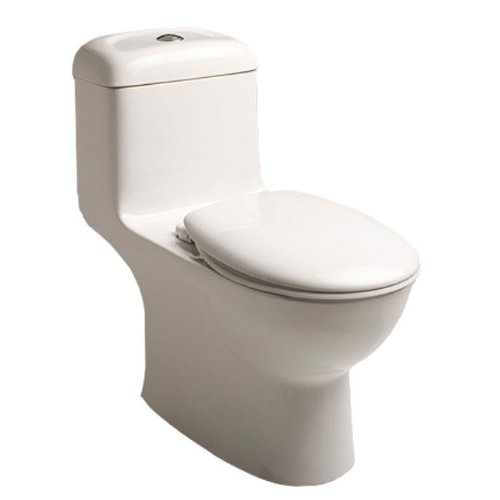 American Standard 2234.001.020 Madera Universal Elongated Toilet Bowl without EverClean White Top Spud