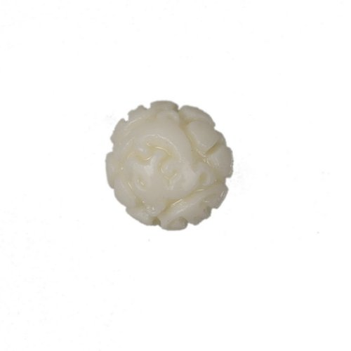 C-Princess 60 grain off White Dragon Ball coral coral stone beads 5 * 5 mm hole perforated 1 mm suitable for material parts hand made accessories