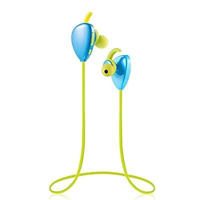 Wireless Sport Bluetooth Headphone , Stereo Headset Earphone , Built-in Microphone , Hands-free Calling Sweat-proof Lightweight Earpiece , (Running / Gym / Exercise / Hiking) For iPhone 6,6 Plus, 5S 5C 5 4S 4, HTC One,One mini, One mini 2,iPad Mini, Samsu