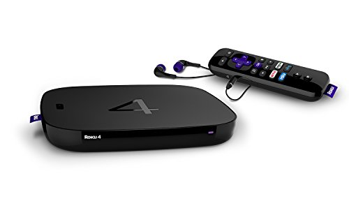 Roku 4 Streaming Media Player (4400R)