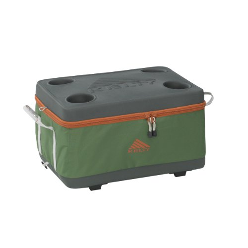 Kelty Folding Cooler (Medium, Forest green)