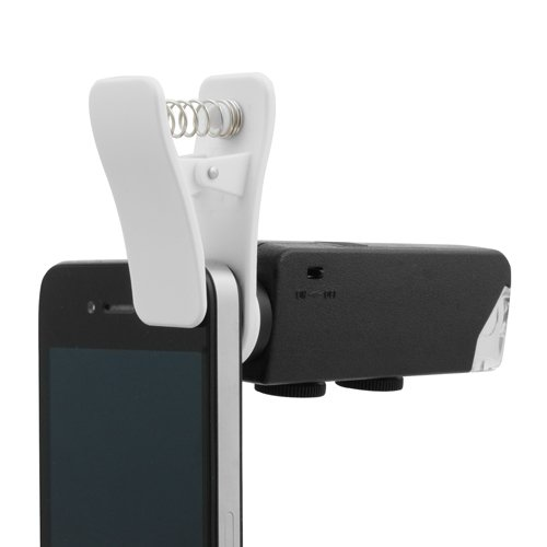 System-S 60-100X Led Optical Light Microscope Clip-On Camera Adapter For Smartphone Universal