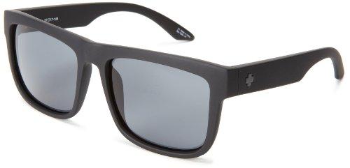 Spy Optic Discord Square Sunglasses,Matte Black,57 Mm