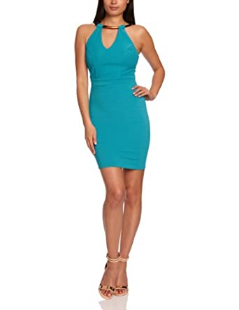 Lipsy JD02285 Sleeveless Women's Dress Skylar Blue Size 6