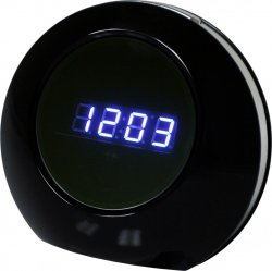 Covert Camera Fully Functional Modern Clock (Records both audio and 1280 x 960 color video)