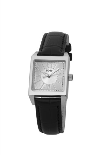 Boss Black Ladies Leather Strap Watch
