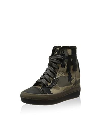 Ruco Line Sneaker Zeppa 2901 Thunder Army