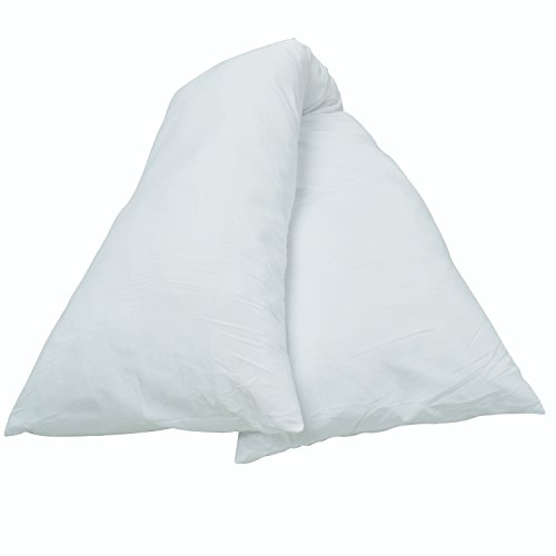 Cheer Collection White Pillowcase for 19