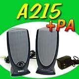 Dell A215 Black Multimedia 2 Channel Speakers