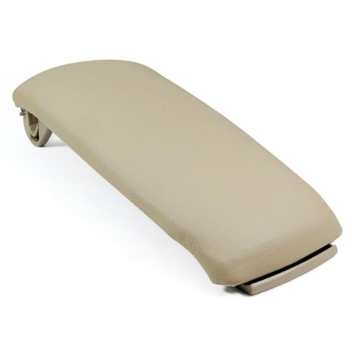 New Beige Leather Center Console Amrest Covers Lip For 00-06 Audi A6 2003 2005 2006 2000 2001 2002 2004 (Audi A4 Center Console Kit compare prices)