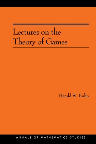 Lectures on the Theory of Games (AM-37) (Annals of Mathematics Studies)