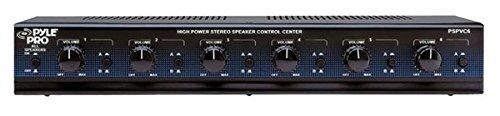 PyleHome PSPVC6 6 Voies haute puissance avec sélecteur de haut-Parleur stéréo avec contrôle Volume