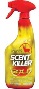 Wildlife Research Scent Killer Gold Clothing and Boot Spray, (24-Ounce)