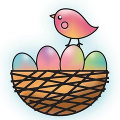 Nest Hippity Hop Snag 'Em Stamp (Imaginisce)