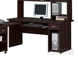 Buy Low Price Comfortable Furniture Espresso Finish Computer Desk by Acme Furniture (B005G4UGFY)