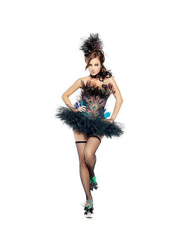 Mystery House Women's Peacock Costume