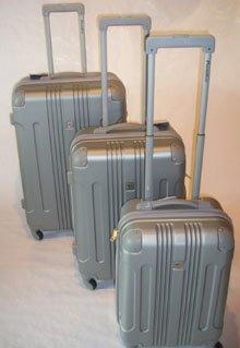 Trolley-Koffer-Set 3-teilig - XXL-Light - 4 Rollen