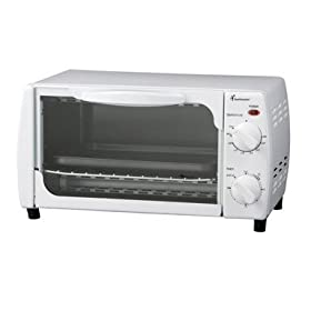Four Slice Toaster Oven with Timer