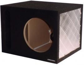 """Obcon Single 10"""" Slot Vented Hatchback Speaker Enclosure"""
