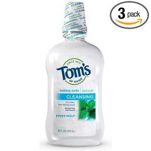 Tom's of Maine Peppermint Baking Soda Cleansing