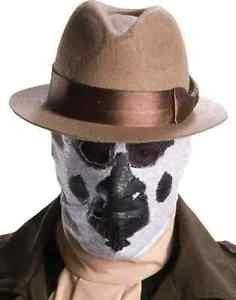 [Rorschach Stocking Mask Watchmen Superhero Halloween Adult Costume Accessory] (Rorschach Halloween Costumes)