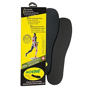Noene 4mm Shock Absorbing Sports Shoe Foot Insoles