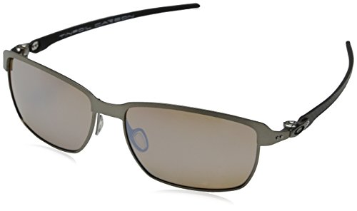 e0a45f0fd58 Sale Oakley Men s Tinfoil Carbon Polarized Iridium Rectangular ...