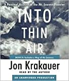 Into Thin Air Unabridged edition