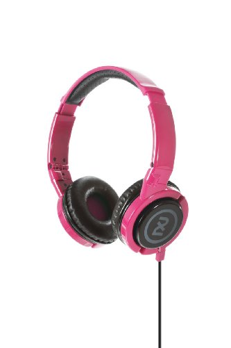 2Xl Phase Dj Headphone With Articulating Ear-Cups X6Ftfz-825 (Pink)