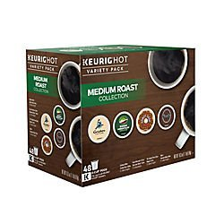 Keurig Green Mountain Medium Roast K-Cup Variety Pack, 48 Count (Light Roast K Cups Nantucket compare prices)
