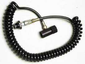 3Skull CO2 HPA Paintball Thick Coiled Remote QD ON/OFF