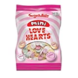 Love Hearts Mini in Mini Packets x4 - Swizzels New Product for 2011 - Wedding Favours Hen Night Parties Children's Party Bags / Boxes etcby Swizzels Matlow