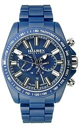 Haurex Italy Aston Multifunction Blue Dial Men's watch #B0366UB1