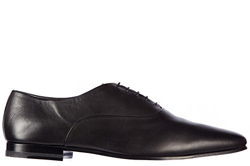 Saint Laurent Paris scarpe stringate classiche uomo in pelle nuove oxford nappa nero EU 45 340320 AJ400 1000