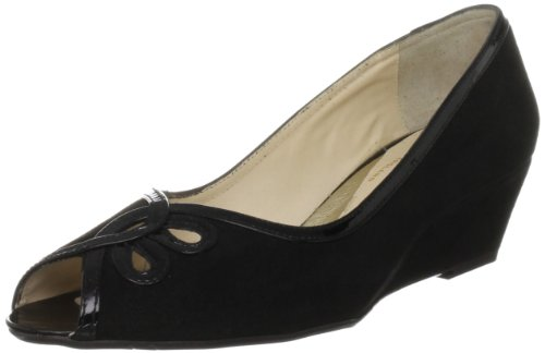 Van Dal Women's Profile Black Sde/Pat Wedges
