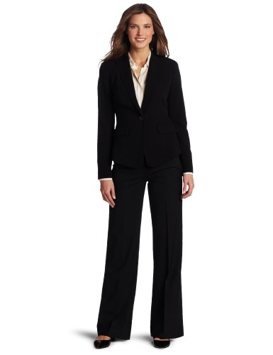 Calvin Klein Women's Fitted Jacket, Black, 16