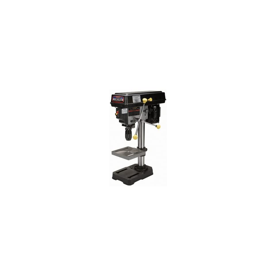 Central Machinery 5 Speed Bench Drill Press With 1 2