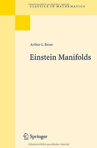 Einstein manifolds
