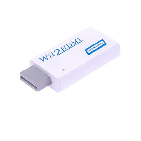 Wii to HDMI Full HD 1080P Output Upscaling Converter Adapter