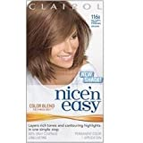 THREE PACKS of Clairol Nice N Easy Light Caramel Brown 116B