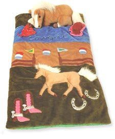More image Cowgirl Horse Sleeping Bag