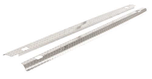 ICI SPBR05TB Treadbright Aluminum Truck Bed Rail Cap with Holes (1997 Dodge Ram Bed Rail Caps compare prices)