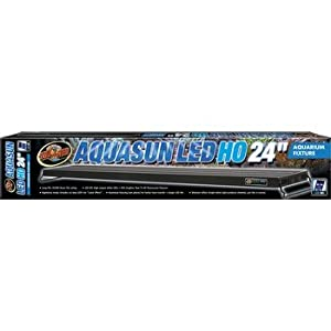 Zoo Med Aquasun LED HO Aquarium Hood, 24-Inch