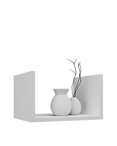 Unico Milano  Mensola A Muro Lux Bianco