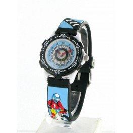 montre pour enfant mck bleue moto cross montres. Black Bedroom Furniture Sets. Home Design Ideas