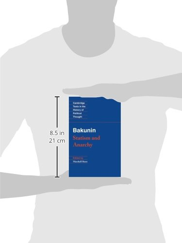 Bakunin: Statism and Anarchy Paperback (Cambridge Texts in the History of Political Thought)
